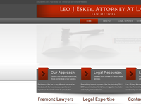 LEO ESKEY website screenshot