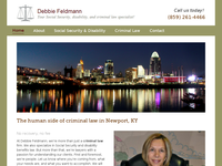 DEBBIE FELDMAN website screenshot