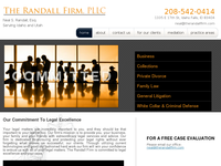 RANDALL FIRM website screenshot
