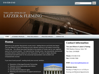 MARY FLEMING website screenshot