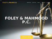 G MAHMOOD website screenshot