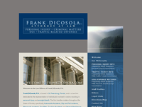FRANK DICOSOLA website screenshot