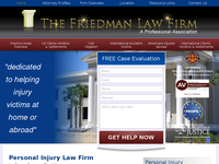 BARRY FRIEDMAN website screenshot