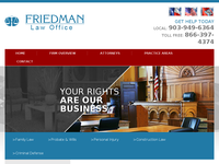 ERROL FRIEDMAN website screenshot