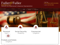 JANET FULLER website screenshot