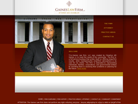 J GAINES website screenshot