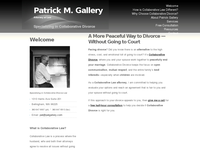 PATRICK GALLERY website screenshot