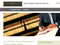 GARY ROBERT website screenshot