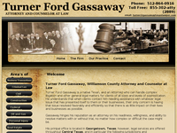TURNER GASSAWAY website screenshot
