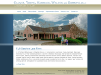 H WINGFIELD GLOVER III website screenshot