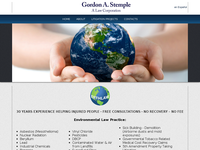 GORDON STEMPLE website screenshot