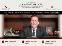RANDY GRIMES website screenshot