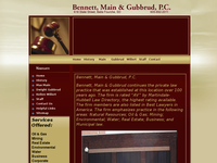 DWIGHT GUBBRUD website screenshot