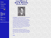 GUY MASERITZ website screenshot