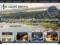H GRADY BROWN website screenshot