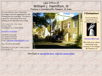 WILLIAM HAMILTON website screenshot