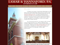 LEON HANNAFORD JR website screenshot