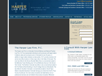CHARLES HARPER website screenshot