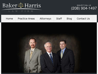 JARED HARRIS website screenshot