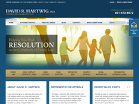 DAVID HARTWIG website screenshot