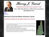 HARVEY GAROD website screenshot