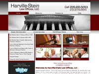 SUSAN HARVILLE-STEIN website screenshot