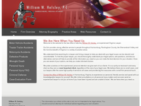 WILLIAM HELSLEY website screenshot