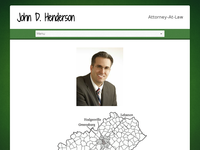 JOHN HENDERSON website screenshot