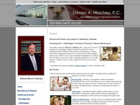 STEVEN HIRSCHEY website screenshot
