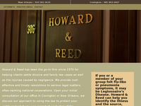 SHAWN REED website screenshot