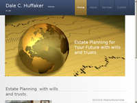 DALE HUFFAKER website screenshot