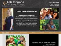 LOIS IANNONE website screenshot