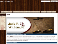 JACK WITHEM website screenshot