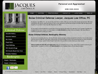 MICHAEL JACQUES website screenshot