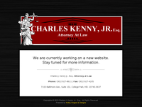 CHARLES KENNY JR website screenshot