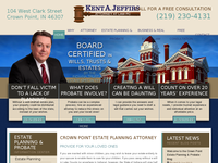 KENT JEFFIRS website screenshot
