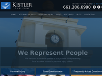 PAUL KISTLER website screenshot