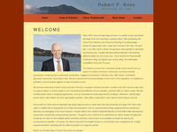 ROBERT KNOX website screenshot