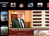LOUIS KOERNER JR website screenshot