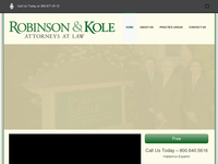 DENNIS KOLE website screenshot