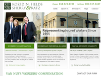 JACK KOSZDIN website screenshot
