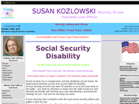 SUSAN KOZLOWSKI website screenshot