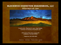 GLEN KRAHENBUHL website screenshot