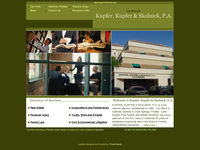 PAUL KUPFER website screenshot
