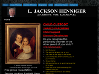 L JACKSON HENNIGER website screenshot