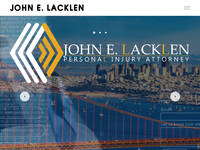 JOHN LACKLEN website screenshot