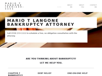 MARIO LANGONE website screenshot