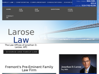 JONATHAN LAROSE website screenshot
