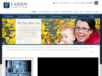JOHN LARSEN website screenshot