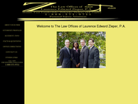 LAURENCE ZIEPER website screenshot